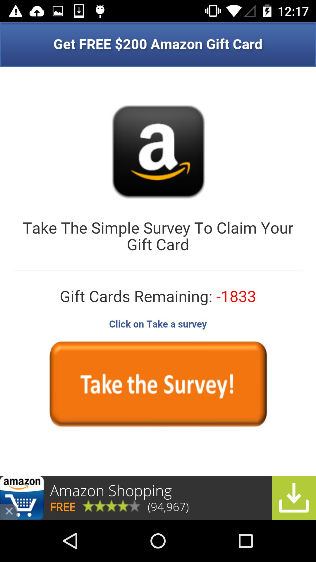Worm.Gazon: Want Gift Card? Get Malware | AdaptiveMobile