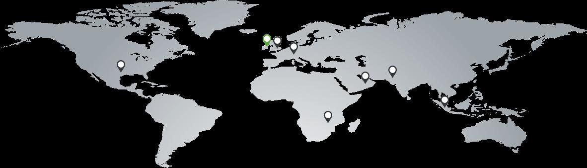 Dublin, London, Dubai, Johannesburg, Delhi, Kuala Lumpur, Brno, Hyderabad, Toronto