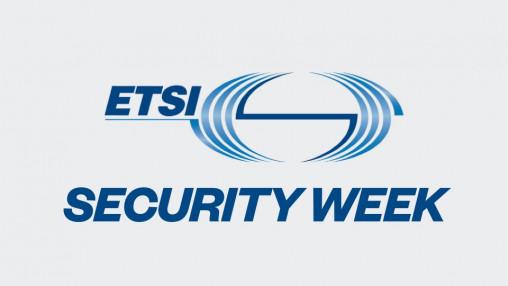 ETSI Security Week