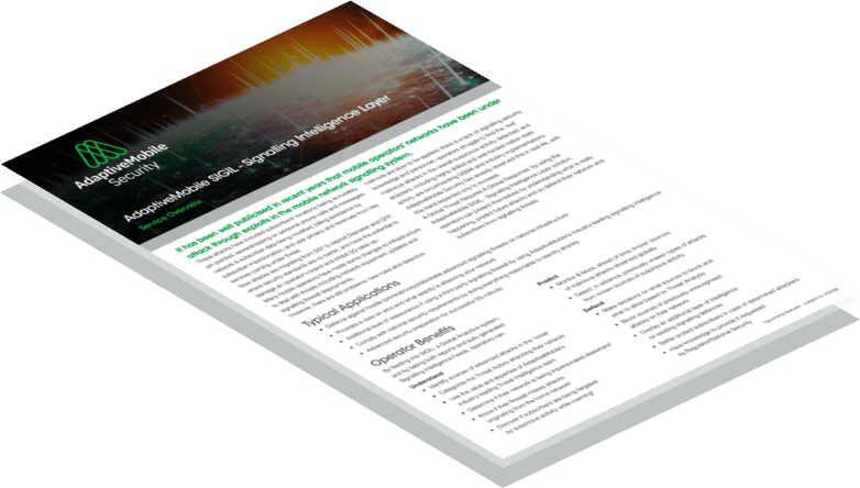 Download SIGIL - Signalling Intelligence Layer Product Overview